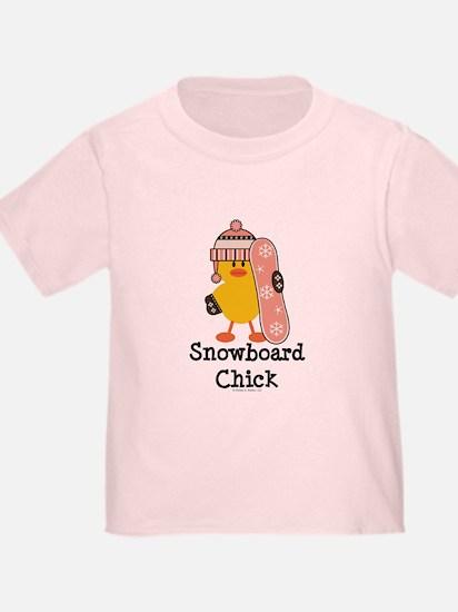 Snowboard Chick T