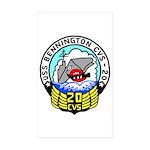 USS Bennington (CVS 20) Rectangle Sticker 50 pk)