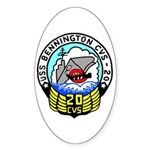 USS Bennington (CVS 20) Oval Sticker (50 pk)