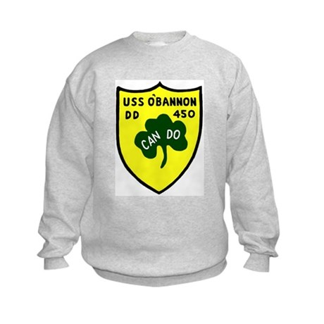 USS O'Bannon (DD 450) Kids Sweatshirt