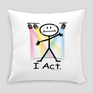 Actor Stick Figure Everyday Pillow