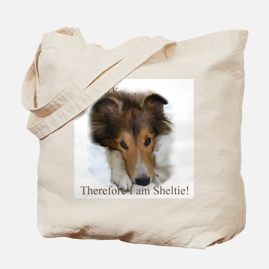 Cute Sheltie Tote Bag