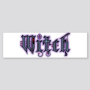 Witch Bumper Sticker