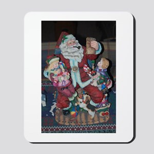 Vintage Santa Mousepad