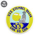 "USS Stembel (DD 644) 3.5"" Button (10 pack)"