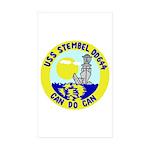 USS Stembel (DD 644) Rectangle Sticker 50 pk)