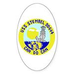 USS Stembel (DD 644) Oval Sticker (10 pk)
