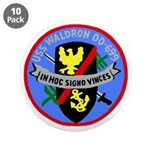 "USS Waldron (DD 699) 3.5"" Button (10 pack)"
