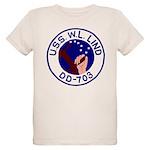 USS W. L. Lind (DD 703) Organic Kids T-Shirt