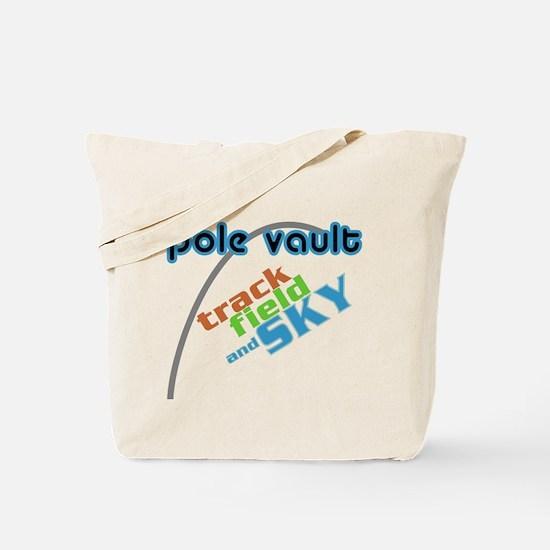 Pole Vault Sky Tote Bag