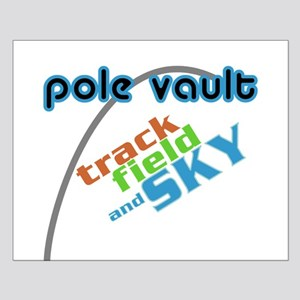 Pole Vault Sky Small Poster