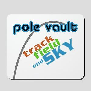 Pole Vault Sky Mousepad