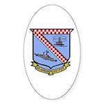 USS De Haven (DD 727) Oval Sticker (50 pk)