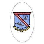 USS De Haven (DD 727) Oval Sticker (10 pk)
