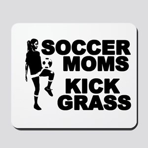 Soccer Moms Kick Grass Mousepad