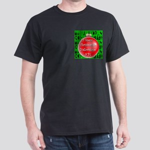 Christmas In Yellowstone Dark T-Shirt
