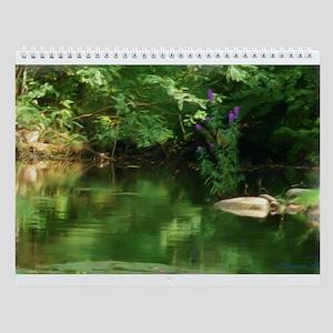 Mystic Design Wall Calendar
