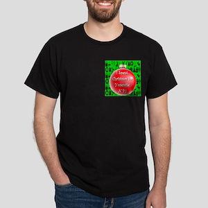 Christmas In Yosemite Dark T-Shirt