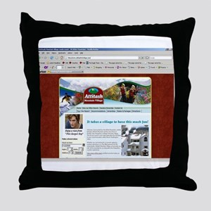 Fire Starter Boy Included Throw Pillow