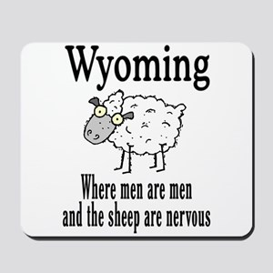Wyoming Sheep Mousepad