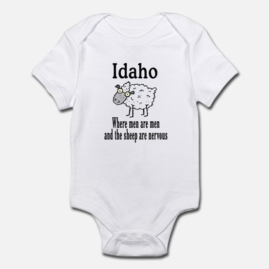 Idaho Sheep Infant Bodysuit
