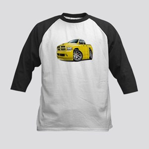SRT10 Dual Cab Yellow Truck Kids Baseball Jersey