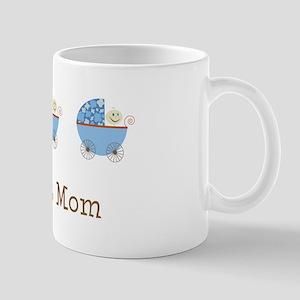 Triplet Mom Buggies BBB Mug