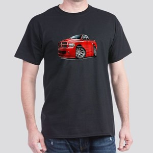 SRT10 Dual Cab Red Truck Dark T-Shirt