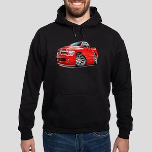 SRT10 Dual Cab Red Truck Hoodie (dark)