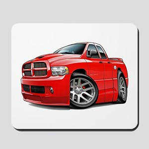 SRT10 Dual Cab Red Truck Mousepad