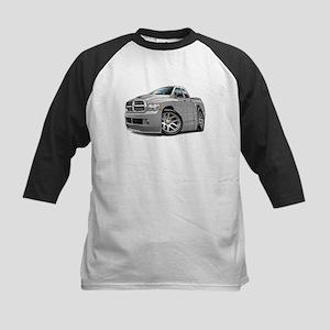 SRT10 Dual Cab Grey Truck Kids Baseball Jersey
