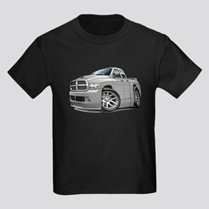 SRT10 Dual Cab Grey Truck Kids Dark T-Shirt
