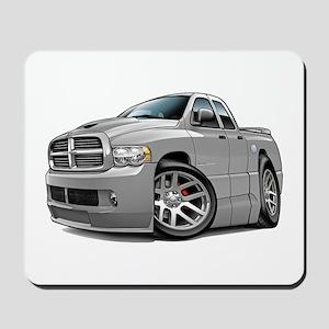 SRT10 Dual Cab Grey Truck Mousepad