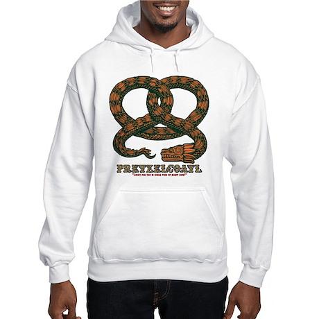 Pretzelcoatl -col Hooded Sweatshirt