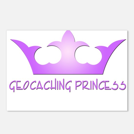 Geocaching Princess Postcards (Package of 8)