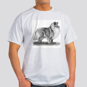 Sheltie Sketch T-Shirt (white)