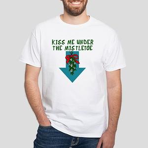 Mistletoe Mischief White T-Shirt
