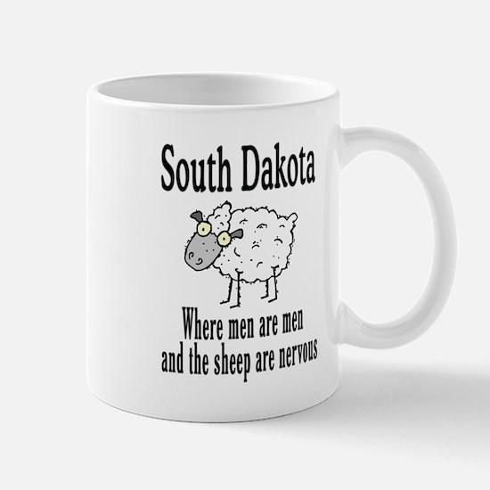 South Dakota Sheep Mug