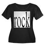 342. rock.. Women's Plus Size Scoop Neck Dark T-Sh