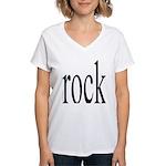 342. rock.. Women's V-Neck T-Shirt