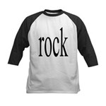 342. rock.. Kids Baseball Jersey