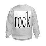 342. rock.. Kids Sweatshirt