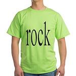 342. rock.. Green T-Shirt