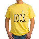 342. rock.. Yellow T-Shirt