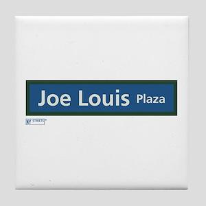 Joe Louis Plaza in NY Tile Coaster