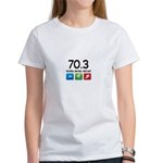 70.3 been there.. done that.. Women's T-Shirt