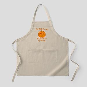Cute Pumpkin Apron