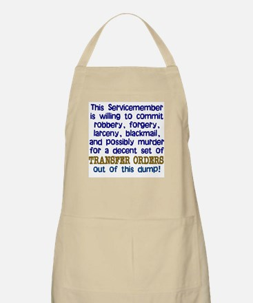 Willing To... BBQ Apron