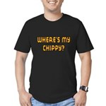 Chippy Men's Fitted T-Shirt (dark)