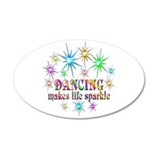 Dancing Sparkles Wall Decal